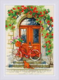 Borduurpakket Italian Door - RIOLIS    ri-1831