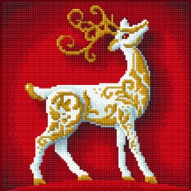 Diamond Art Reindeer - Leisure Arts    la-dax-51141