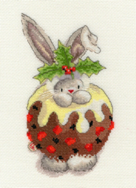 Borduurpakket Bebunni - Christmas Pudding - Bothy Threads    bt-xbb05