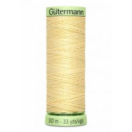 Gütermann Siersteekgaren  30 m / 325 / Licht Geel