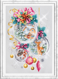 Borduurpakket A Christmas Fairy Tale - Chudo Igla    ci-100-247