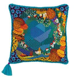 Borduurpakket Dreamland Cushion - RIOLIS    ri-1426