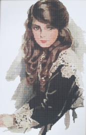 Cross Stitch / A Russian girl
