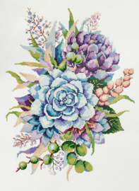 Diamond Painting Succulents - Freyja Crystal    fc-alvr-204