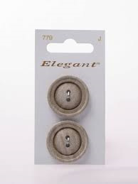 Knopen Elegant - Bruin / 779