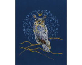 Borduurpakket King Eagle Owl - RTO    rto-m00785