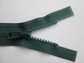 YKK Deelbare bloktand rits.  Groen  kleurnr. 890