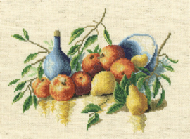 Borduurpakket Still Life With Fruit - RTO    rto-m00354