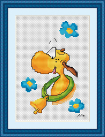 Borduurpakket Moo - Papillon    pap-m002