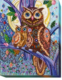 Kralen borduurpakket Midnight Hues - Abris Art    aa-ab-445