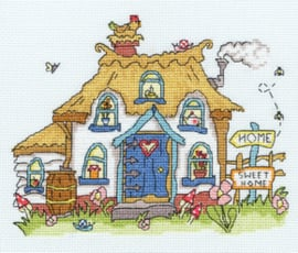 Borduurpakket Sew Dinky - Cottage - Bothy Threads    bt-xsd09