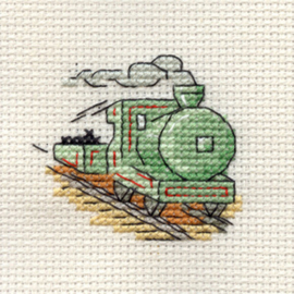 Borduurpakket Steam Train - Mouseloft    ml-004-e08