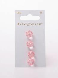 Knopen Elegant - Roze / 595