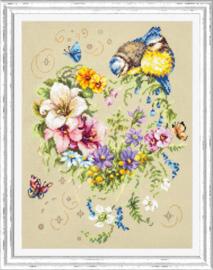 Borduurpakket Melody of Your Heart - Chudo Igla    ci-100-142