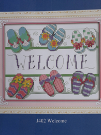 Cross Stitch / Welcome