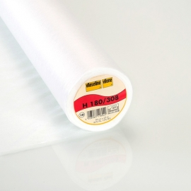 Vlieseline H 180 Plakbare Tussenvoering  Wit