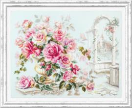 Borduurpakket Roses for the Duchess - Chudo Igla    ci-110-011