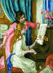 Diamond Dotz Girl's at the Piano (Renoir) - Needleart World    nw-dd12-034