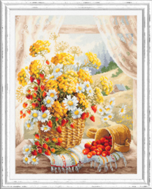 Borduurpakket Honey Flavor - Chudo Igla    ci-100-181