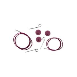 KnitPro Kabel 40 cm / Paars / 10500