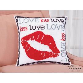 Tissu de Marie - Kussenhoes Love