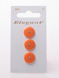 Knopen Elegant - Oranje / 385