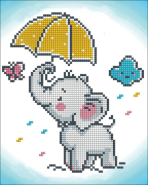 Diamond Dotz Baby Brollie - Needleart World    nw-dd03-028