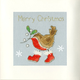 Borduurpakket Margaret Sherry - Step Into Christmas - Bothy Threads    bt-xmas31
