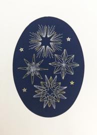 Borduurpakket Bothy Designs - Shining Stars - Bothy Threads    bt-xmas27