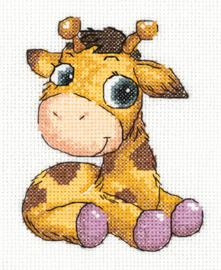 Borduurpakket Jojo the Giraffe - PANNA    pan-08-0362