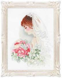Borduurpakket Bride - RIOLIS    ri-p100-050