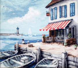 Borduurpakket Sea Port - Leti Stitch    leti-0908
