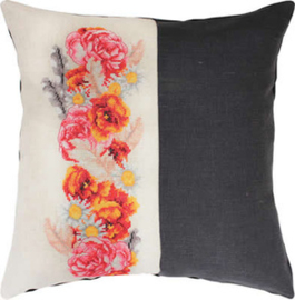 Borduurpakket Pillow Roses - Luca-S    ls-pb128