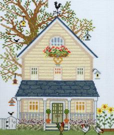 Borduurpakket New England Homes - Summer - Bothy Threads    bt-xss02