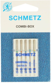 Schmetz universele assortiment. geweven/jeans/stretch