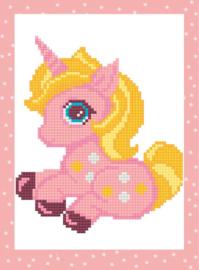 Diamond Painting Pink Unicorn - Freyja Crystal    fc-alvs-027