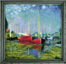 Borduurpakket Argenteuil after C. Monet's Painting - RIOLIS    ri-1779