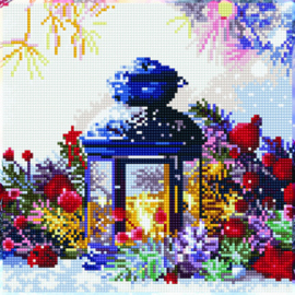 Diamond Art Lantern - Leisure Arts    la-dax-51140