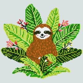 Diamond Art Sloth - Leisure Arts    la-da02-51151