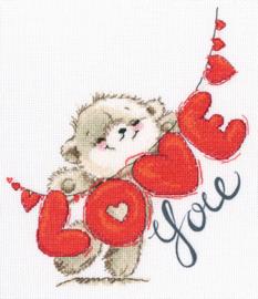 Borduurpakket I love you - RTO    rto-m70033