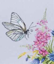 Borduurpakket Cabbage Butterfly - RTO    rto-m00759
