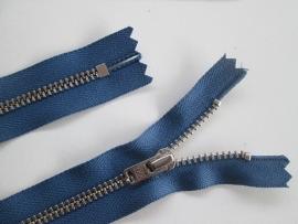YKK Broekritsen   Zilverkleurige tanden  Jeans blauw  Kleurnr. 839