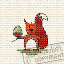Borduurpakket Cyril Squirrel in the Woods - Mouseloft    ml-00f-003