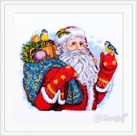 Borduurpakket Merry Christmas! - Merejka    mer-k123