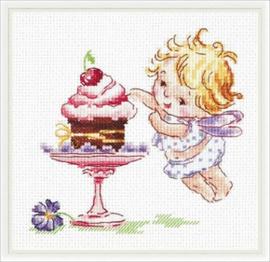 Borduurpakket I Love Sweets! - Chudo Igla (Magic Needle)    ci-035-022