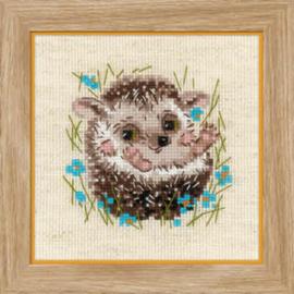 Borduurpakket Little Hedgehog - RIOLIS / Kleine Egel  ri-1753