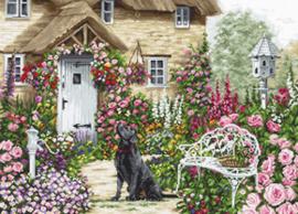 Borduurpakket The Cottage Garden - Luca-S    ls-b2377