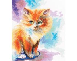 Borduurpakket Sunny Kitten - RTO    rto-m00827