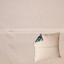Kussenrug 45 x 45 cm Ivory - Duftin    d-backs301