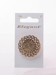 Knopen Elegant - Goud / 745